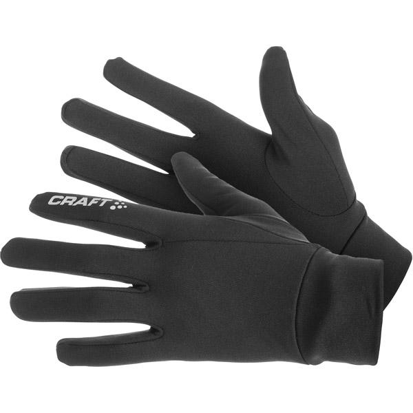CRAFT Thermal Black bežecké rukavice  8f93b456895