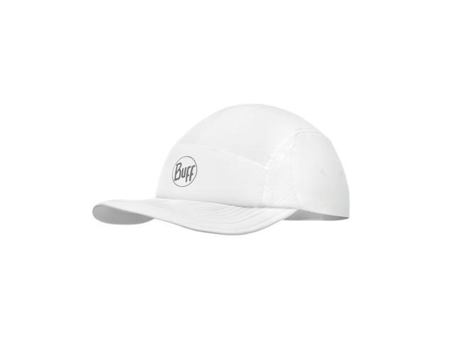 bc58bf11a BUFF RUN CAP SOLID White bežecká šiltovka | RunningPro.sk