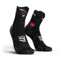 COMPRESSPORT Racing Socks V3.0 Run Hi Smart Black