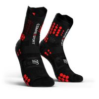 COMPRESSPORT Racing Socks V3.0 Trail Black/Red