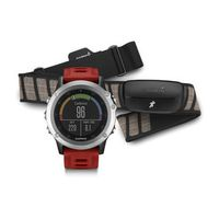 Garmin Fenix 3 Silver Performer Bundle HRM Run