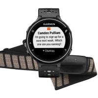 Garmin Forerunner 230 Bundle / HRM Black & White