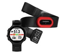 Garmin Forerunner 735XT Run Bundle Black & Gray