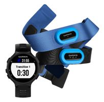 Garmin Forerunner 735XT Black & Gray Tri Bundle