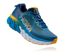 HOKA ONE ONE Arahi W Blue Gold