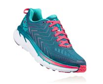 HOKA ONE ONE Clifton 4 W Blue Coral