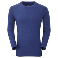 Montane Primino 220g LS T-Shirt Blue