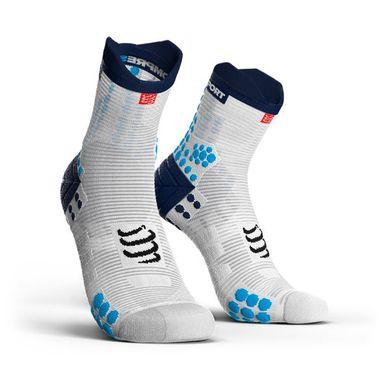 COMPRESSPORT Racing Socks V3.0 Run Hi Blue