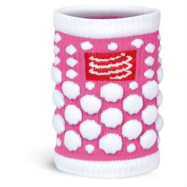COMPRESSPORT SWEATBANDS 3D Dot Flue Pink