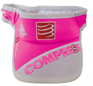 COMPRESSPORT VISOR UltraLight V2 Fluo Pink