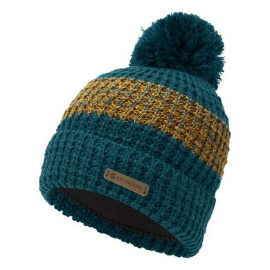 Montane Top Out Bobble Beanie Blue
