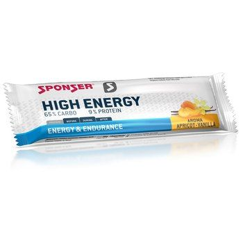SPONSER High Energy Bar Apricot/Vanilla 45g
