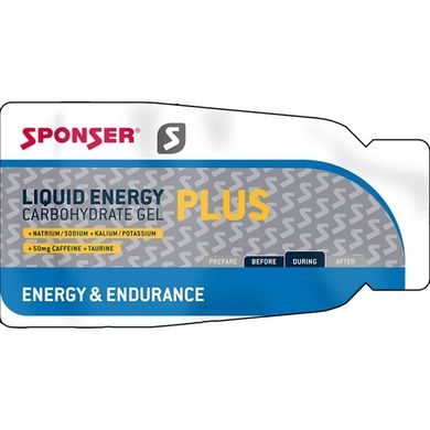 SPONSER Liquid Energy Gel Plus 35g