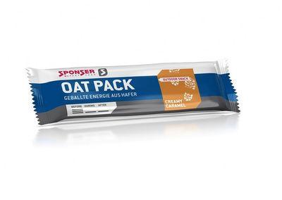 SPONSER Oat Pack Creamy Caramel 60g