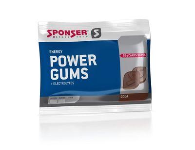 SPONSER Power Gums Energy Cola 75g