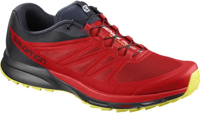 e0fd6c6b75ad Trailová bežecká obuv. SALOMON SENSE PRO 2 Red zväčšiť obrázok